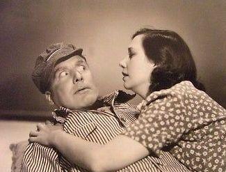 Patsy Kelly and Alan Mowbray