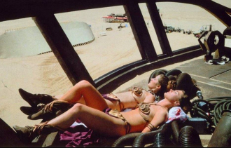 Princess Leia & Trady Eddon Return of the Jedi