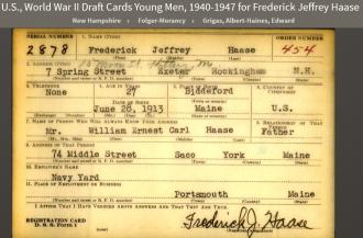 Frederick Jeffrey Haase