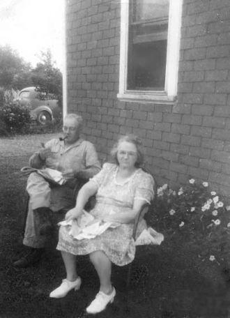 Alva Vernon & Bessie Lee (Ellis) Crist