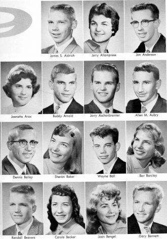 Jon Anderson - 1959 Senior Class