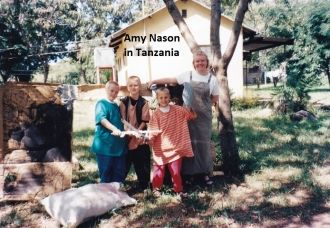Amy Beth (Nason) Rego, Tanzania