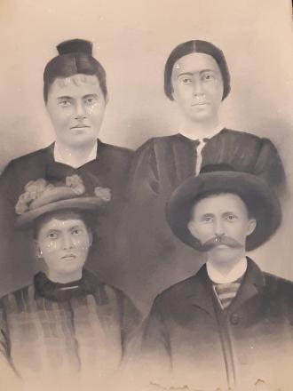 Noah L. Strickland & His 3 wives