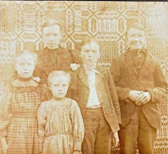 The Reuben Bruner Family