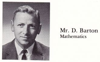 Mr D Barton Evergreen High School