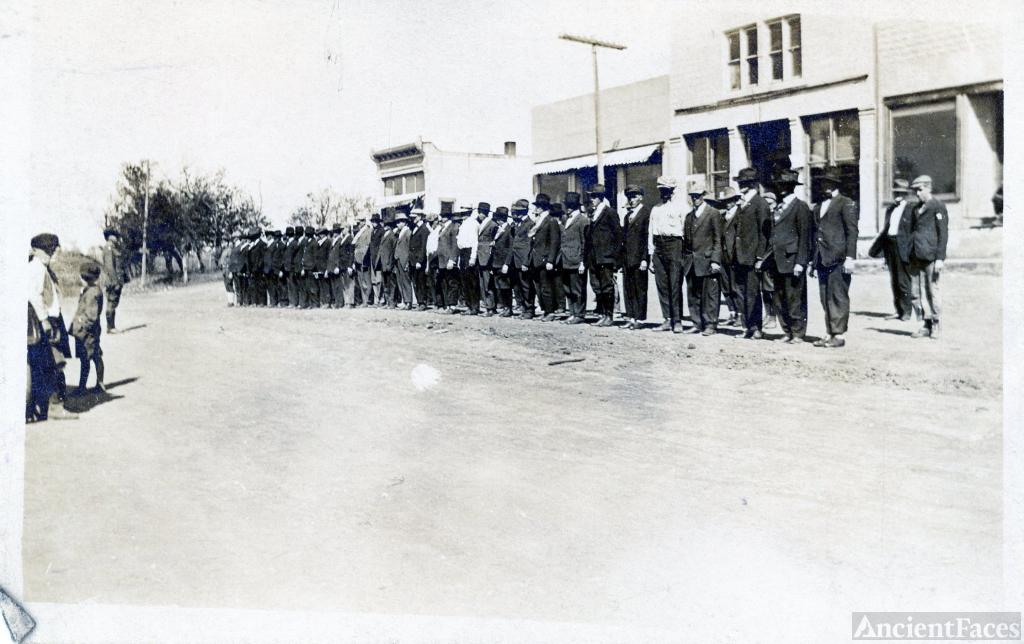 Kansas Marching Practice 1913