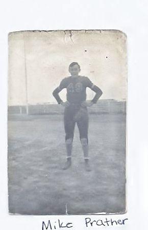 Michael Ross Prather, Football