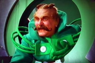 Frank Morgan as The Wizard of Oz.
