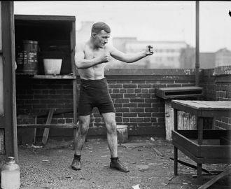 Boxer at Wash. Barracks
