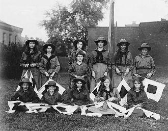 Girl Scout Troop, 1920