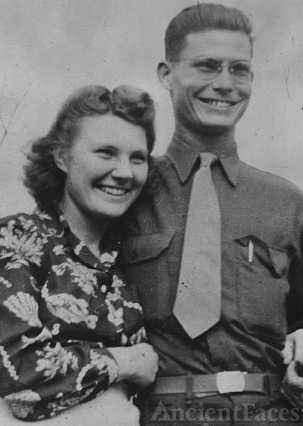 Desmond Doss and wife