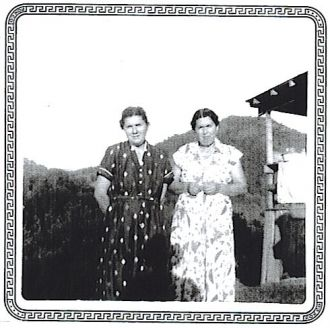 My grandmother MAZELLA COUCH BARNETTE & sister IDA COUCH GULLEY