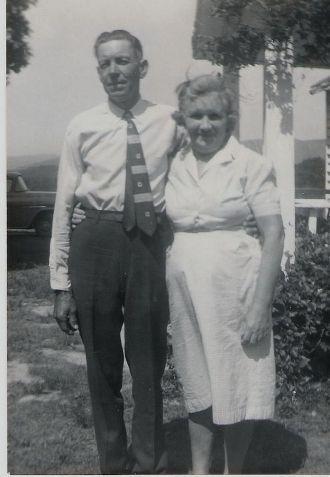 Grandparents, Roy Lee and Christina Jane Christian