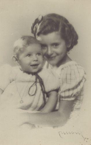 Teresa Maria and Camila Coll Poirson