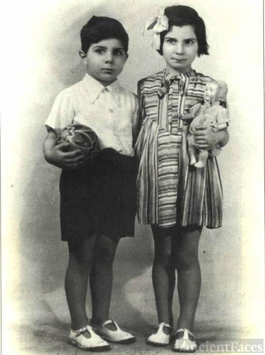 Solange and Albert Bendavid