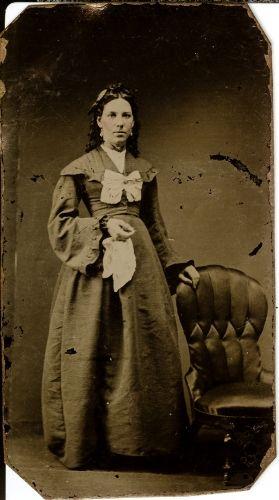Unknown woman, 1865