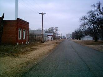 Streetview of Corbin, Kansas