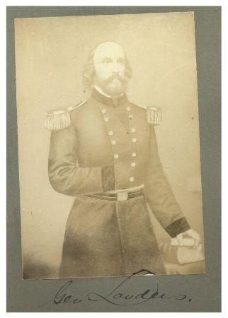 General Landers, 1865