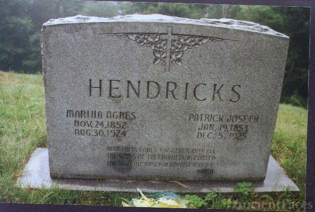 Martha and Patrick Hendricks