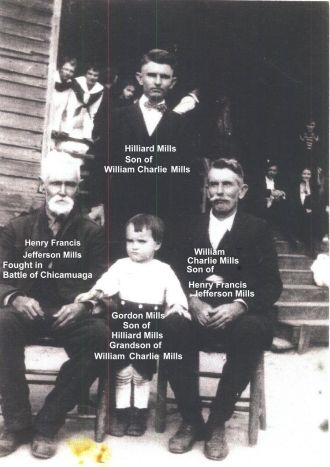 4 generations of Mills