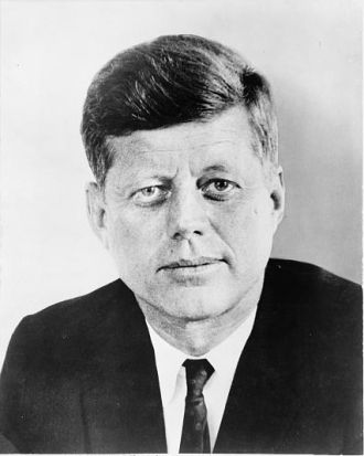 A photo of John Fitzpatrick Kennedy
