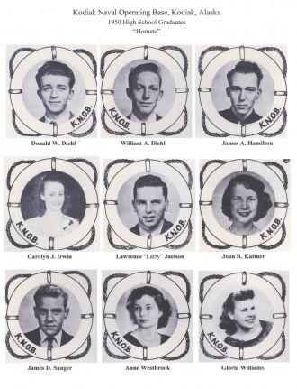 1950 KNOB High School graduates