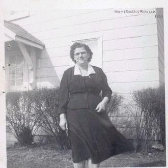 A photo of Mary  (Sositko) Ridenour