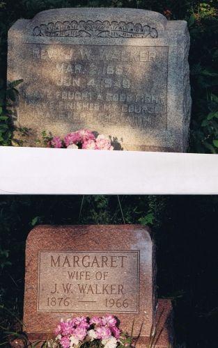 John & Margaret (Baker) Walker gravesite