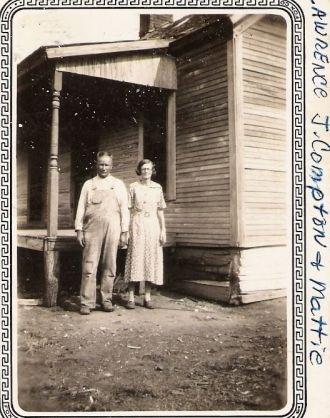 Lawerence j. Compton & Mattie Loter