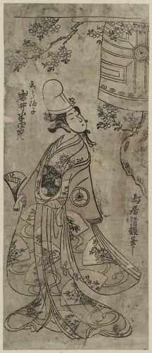 Iwai hanshirō no shirabyōshi