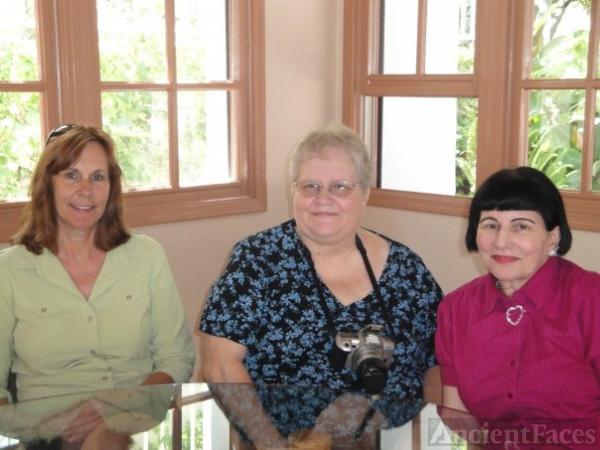 Sara, Barbara,  & Donna Wyrens, California