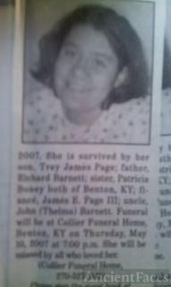 Kristin Marie Barnett obituary