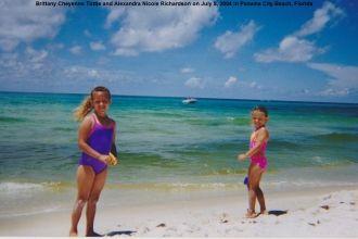 Brittany Tuttle and Alexandra Richardson 2004