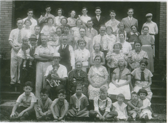Hackett family reunion 1936