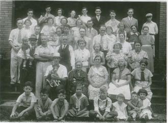 Hackett family reunion 1936