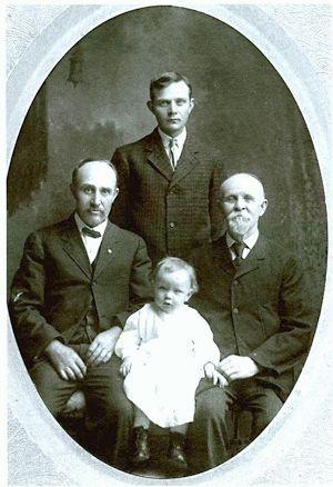 4 Generations of Danforth men