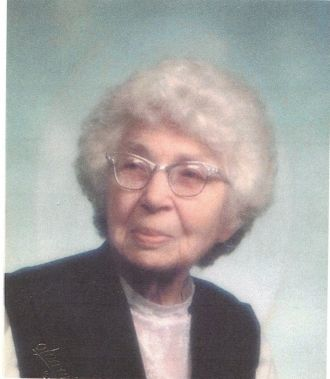 A photo of Nora Bell Schrecengost