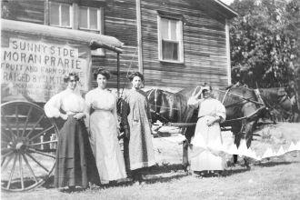Tesarik Produce wagon,  1887