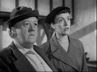 Joyce Grenfell and Margaret Rutherford