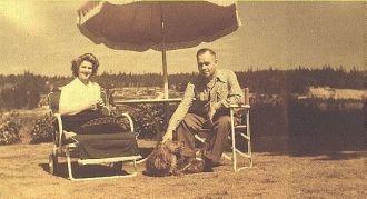 George & Joyce Benning, 1944