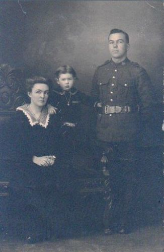 Matilda, Arnold, & Albert Phillips, 1915 Canada