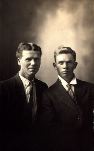 Charles A Godfrey and Roy Tellyer