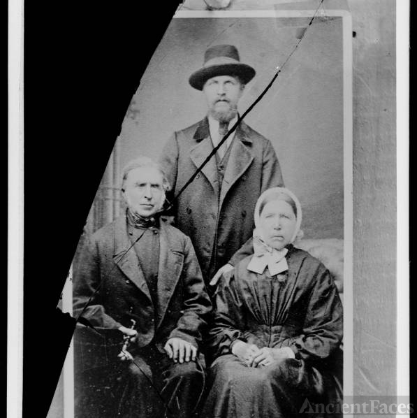Lars Johansen and Anna Margareth Sorenson and one of their sons