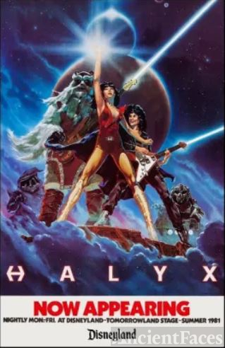 HALYX Promotional Poster for 1981 Disneyland Performances