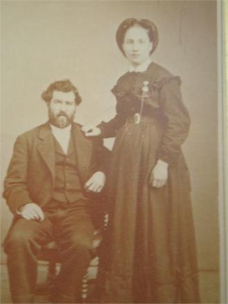 Samuel Logan and wife Louise Thompson