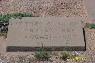 The Huish Headstone