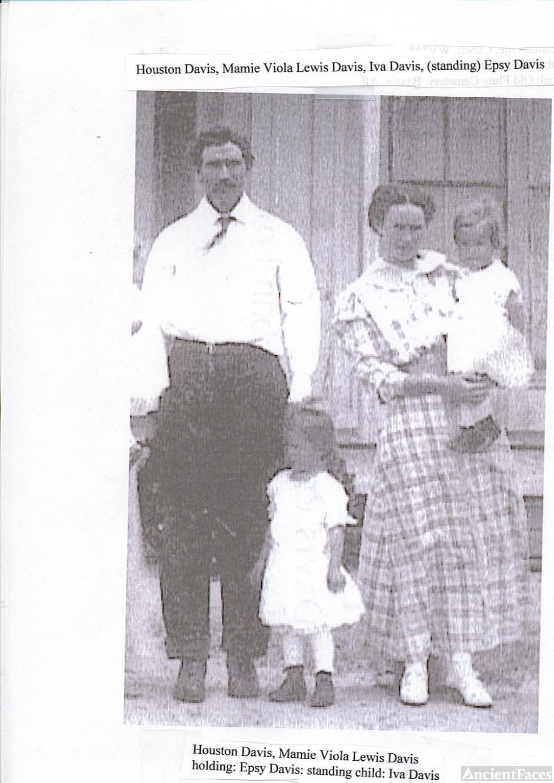 Grandfather and grandmother Davis
