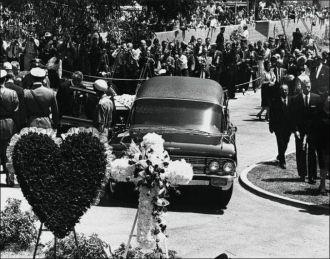Marilyn Monroe's Funeral