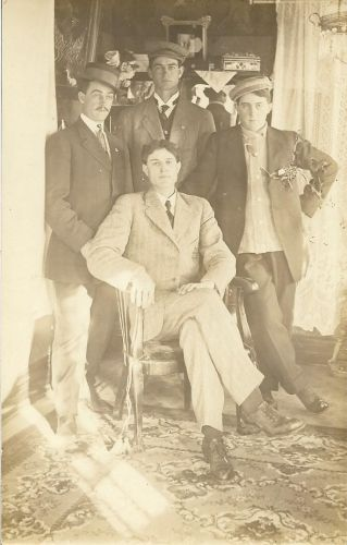 Hileman and Metz men