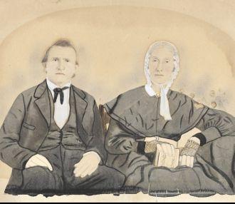 George Gammon & Mary J Miller Morris